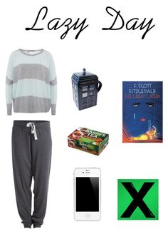 Lazy Day by makaylla-alexander on Polyvore featuring 360 Sweater and Pieces