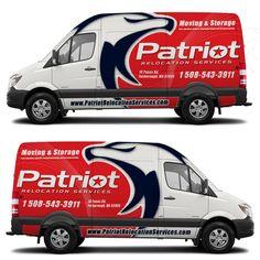 Designs | High-end moving company seeking truck/van wrap design | Car, Truck or Van Wrap contest