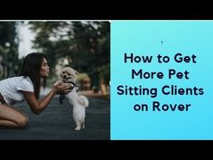 Pet Sitting Hacks, Tips and Tricks to Get Rover clients - YouTube Pet Sitting Business, Dog Walking, Hacks, Pets, Youtube, Youtubers, Youtube Movies, Animals And Pets, Walking The Dogs