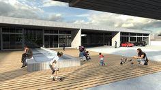 TFG 2014 - Centro de Atendimento a Crianças com TGD - Praça de acolhimento