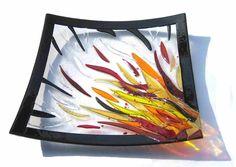Kiln glass - Jon Stamford - Glass Design.  Much more at http://www.freewebs.com/stamfordglass/kilnglass.htm