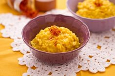 Risotto alla Milanese (Northern Italy receipe: rice with saffron)