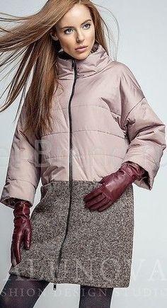 Выкройка пальто прямого покроя с воротником стойкой (Шитье и крой)   Журнал Вдохновение Рукодельницы