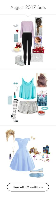 """""""August 2017 Sets"""" by briony-jae ❤ liked on Polyvore featuring Belec, Monsoon, James Perse, Topshop, Design House Stockholm, Palm Beach Jewelry, Annello, Socksmith, H&M and Bling Jewelry"""