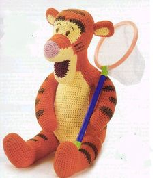 Tigger Amigurumi Pattern in English by YourPatternShop on Etsy, $2.50