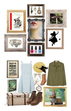 """Book style"" by fiorire-15 ❤ liked on Polyvore featuring art, aliceinwonderland, books, QueenOfHearts, John-Richard, Dorothy Perkins, Bookishly, MANGO, Pottery Barn and Lulu Frost"