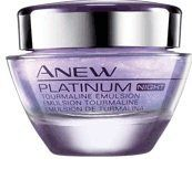ANEW PLATINUM Night Tourmaline Emulsion - Get a instant moisture boost…and look almost 5 years younger in 2 weeks. Platinum Skin Care, The Face Shop, Avon Online, Beauty Supply, Bath And Body, Moisturizer, Perfume Bottles, Fragrance, Avon Products