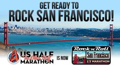 Rock N' Roll San Francisco!!! MOST BORING RnR race EVER!! 2 bands, one drummer for 13.1 miles.  Yawn.  Course was amazing though...only saving grace.
