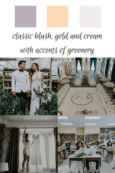 The palette for this luxurious Fort Garry Hotel Wedding planned by Melanie Parent Events in Winnipeg, Manitoba. #winnipeg #wedding #winnipegwedding