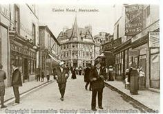 "I used to work in the "" Scotch Wool Shop "" and Athens in ""Hargreaves and Whitiker The Jewellers Euston Rd, in the early . Morecambe, Local History, Lancaster, Old Pictures, North West, Seaside, England, Street View, Wool Shop"