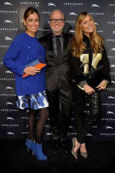 November 26, 2015 - Jana Ina Zarrella, Markus Wahl and Alena Gerber at the Longchamp new flagship store opening in #Cologne.