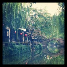 Zhujiajiao china, water village.