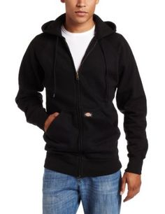 Dickies Men's Hooded Fleece Jacket, Black, 3X-Large Dickies. $21.84