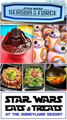 Enjoy Disney Parks' Season of the Force menu items! Here's a list of all the limited edition Star Wars-themed menu items available at the Disneyland Resort. #StarWars #Disneyland #SeasonOfTheForce