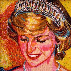 made from jelly beans...princess of wales
