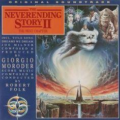 Giorgio Moroder / Robert Folk - The Neverending Story II (The Next Chapter) Neverending Story 3, Soundtrack, Cd Album, Next Chapter, Popular Music, The Next, In A Heartbeat, Vinyl Records, Folk