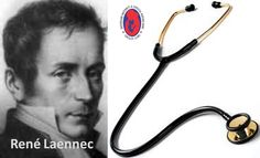Celebrating René Laennec's birthday who invented #stethoscope