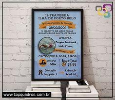 Poster Personalizável para os atletas que participam de Provas de Travessia !! 💪👊 Registre esse momento tão especial e mantenha a lembrança viva pendurando um quadrinho destes na sua parede . 👉 a partir de R$29,90 !! #poster #travessia #personalizável #personalizado #triatlo #provas #atletas #quadro #momento #topquadros