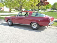1966 Plymouth Barracuda. My favorite body style!