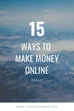 In this post I will share 15 ways how to make money from home, make money online, ways to make money from home make money fast and much more! #makemoney #online #onlinemoney #moneyfromhome Way To Make Money, Make Money Online, How To Make, Money Fast, 5 Stages Of Change, Travel Essentials, Travel Tips, Travel Guides, Travel Plan