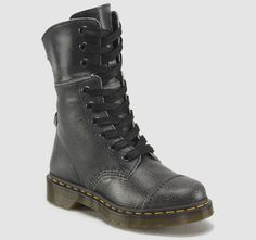 Saving this for a character fashion design... Good base for Caitlyn. Doc Martens. Aimilita. Color: Black + White. Material: Cristal Suede. Product Code: 16026002