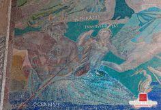 El mosaico de la Casa del Mitreo.