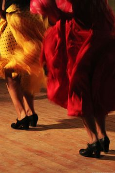 Flamenco in Andalucía (Spain). 'Uplifting and melancholic, the soul-stirring strains of flamenco originated in Andalucía and it's still here in southern Spain that you're most likely to hear the genre at its best. Flamenco's heartland lies along the Seville, Cádiz and Jerez de la Frontera axis and live flamenco lights up the nights in all three cities.' http://www.lonelyplanet.com/spain/andalucia