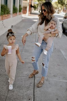 Sep 2019 - The other day, when I picked Harper up from preschool, she told me that one of the little girls in her class was pulling her hair. I could feel my insides starting to become very protective. I calm… Girls Fall Outfits, Mommy And Me Outfits, Little Girl Outfits, Cute Outfits For Kids, Little Girl Fashion, Toddler Girl Outfits, Toddler Fashion, Clothes For Kids, Stylish Mom Outfits