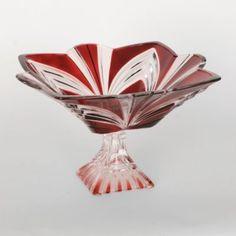 Aurora Ruby Pedestal Compote Bowl | Kirkland's