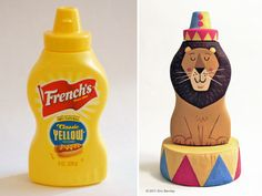 Amusing Bottle Art - great idea for the kids Kids Crafts, Crafts To Do, Craft Projects, Craft Ideas, Creative Crafts, Recycled Art, Bottle Art, Bottle Crafts, Food Containers