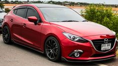 Mazda 3 on advan wheels Mazda Cx3, Mazda Mazda3, Japanese Sports Cars, Japanese Cars, Mazda 3 Speed, Mazda 3 Hatchback, Mercedez Benz, Performance Cars, Jdm Cars