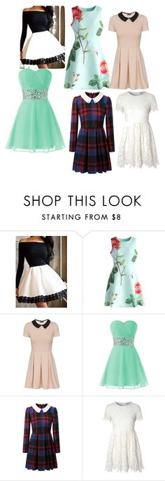 """dresses"" by mrsambroses ❤ liked on Polyvore featuring interior, interiors, interior design, home, home decor, interior decorating, Chicwish and Glamorous"