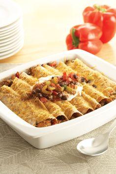 Chicken Enchiladas #Recipe - #LowSodium #chickendotca