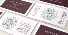 Butterfield Market | Strohl—Brand Identity, Packaging & Trademark Design