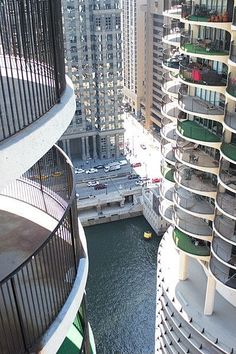 A View From Marina City