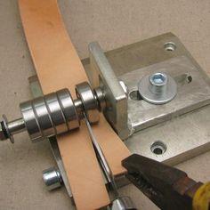 Cuero Profesional Correa máquina del cortador de acero tira de cuero de herramientas de corte para Cuero Vegetal de cuero silla