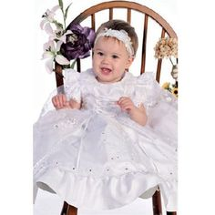 Angels Garment White Dress Size 3T Girl Satin Organza Baptism Boutique brand special occasion dress!. Exquisite intricate detailing!. Stunning price!.