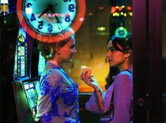 Natalie Portman and Norah Jones from the movie My Blueberry Nights