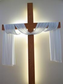 Purple Draped Cross Pin   The Catholic Company. **make for ...