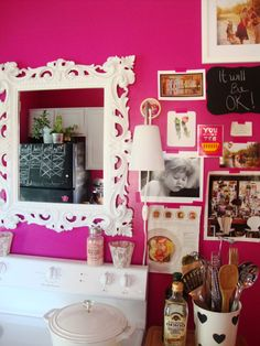 Razzle Dazzle Benjamin Moore 1348 Fun Hot Pink With Enough