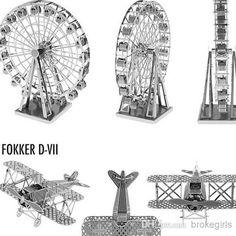 Wholesale cheap dIY toy online, building - Find best 2014!! hot toys dIY toys 3D p51 mustang titanic eiffel tower huey helicopter steam locomoyive ferris wheel black pearl ship toys free ship at discount prices from Chinese 3D puzzles supplier on DHgate.com.