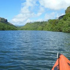 Three Amazing Things to do in Kauai Kayak the Wailua River and hike to  waterfalls Kauai is the only island that has rivers that you can kayak, so take advantage of that unique opportunity. We loved kayaking the Wailua River and then hiking to take a dip below 100-ft tall Uluwehi Falls.