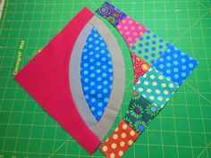 Curved Piecing Tutorial; plus help with steps 13-14 - Color Girl Quilts by Sharon McConnell