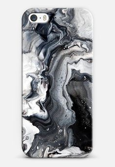 Casetify - Black and White Marble iPhone 5 Case - $40