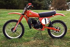 Honda RC125 replica In the mid-70s, the poster boy for motocross was Marty Smith, and he rode an RC125 Elsinore. Although it looked similar to the Elsinore you could buy at your LOCAL DEALER, it was actually a seriously tricked-out bike.