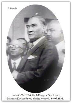 Atatürk Ankara'da. 08.07.1932.