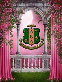 AKA Pink Garden #followprettypearlsinc AKA 1908