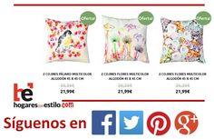 Hoy #cojines de #oferta en hogaresconestilo.com #home #hogar #estilo #deco #decoracion