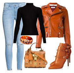 """""""#1💎"""" by gabriela-costa-carneiro ❤ liked on Polyvore featuring H&M, Golden Goose, Valentino, Mark Davis, MCM and Acne Studios"""