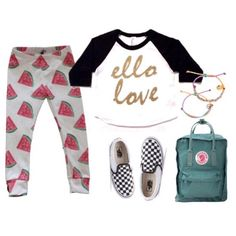 Ello Love Baseball Raglan & Watermelon Leggings!